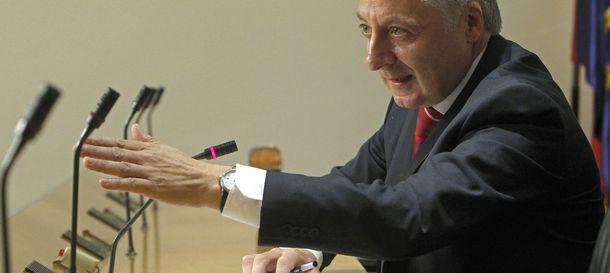 Foto: El exministro José Blanco. (EFE)