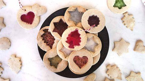 Receta de galletas especiadas con cristales de caramelo