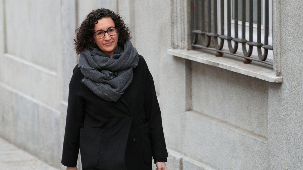 Foto: Marta Rovira, a su llegada al Supremo. (Reuters)