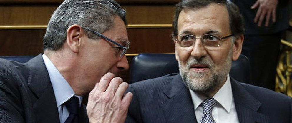 Foto: Los equilibrios de Ruiz-Gallardón entre Rajoy y Aznar desatan las suspicacias en el PP