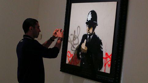 El anticapitalista Banksy entra en el museo