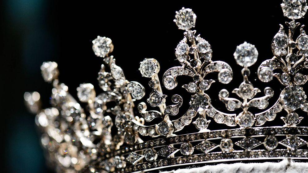 Foto: Una de las tiaras del joyero británico. (Getty Images)
