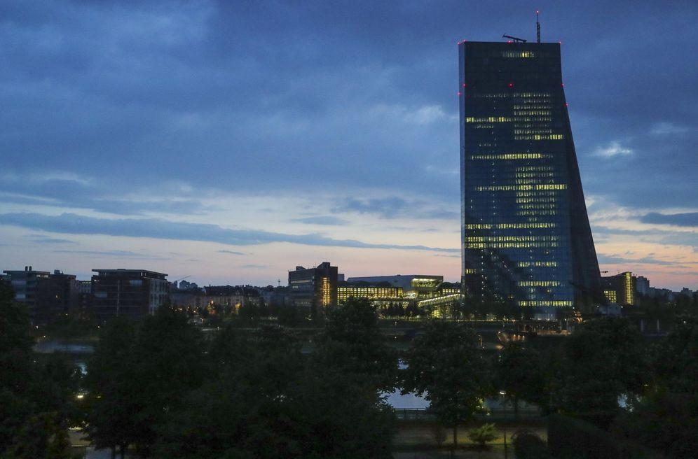 Foto: El Banco Central Europeo. (EFE)