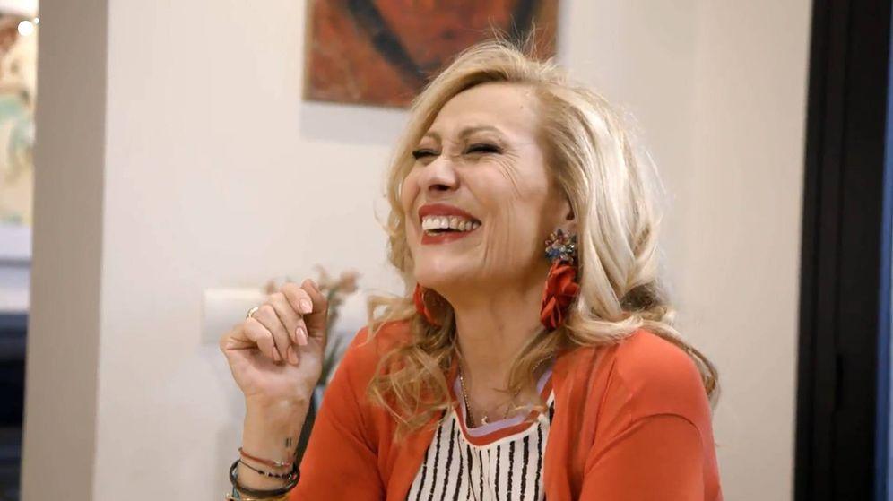 Foto: Rosa Benito, ganadora de 'Ven a cenar conmigo: gourmet edition'. (Telecinco)