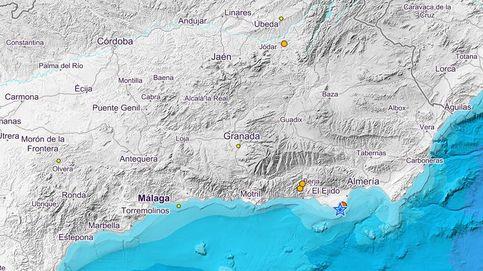 Registrado un ligero terremoto de magnitud 3.3 en Roquetas de Mar (Almería)