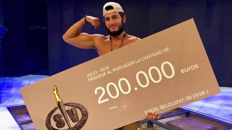 Omar Montes, ganador de 'Supervivientes 2019'. (Telecinco)