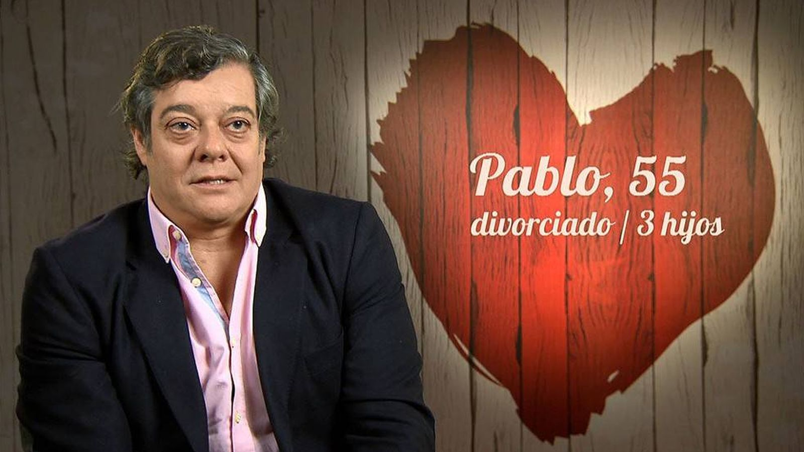 Foto: Pablo en 'First Dates'.