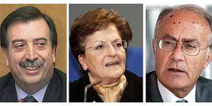 Los dimisionarios: tres magistrados sin nada en común