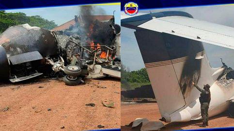 Venezuela anuncia que destruyó un avión con siglas americanas que entró en país