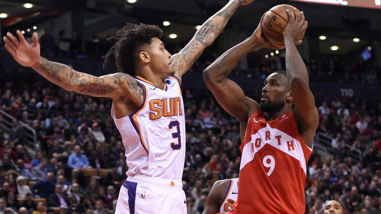 Serge Ibaka y Marc Gasol se repartirán los minutos en el puesto de cinco en los Toronto Raptors. (USA TODAY Sports)