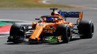 Magnussen ha intentado golpearme: el enfado de Alonso en los Libres 1