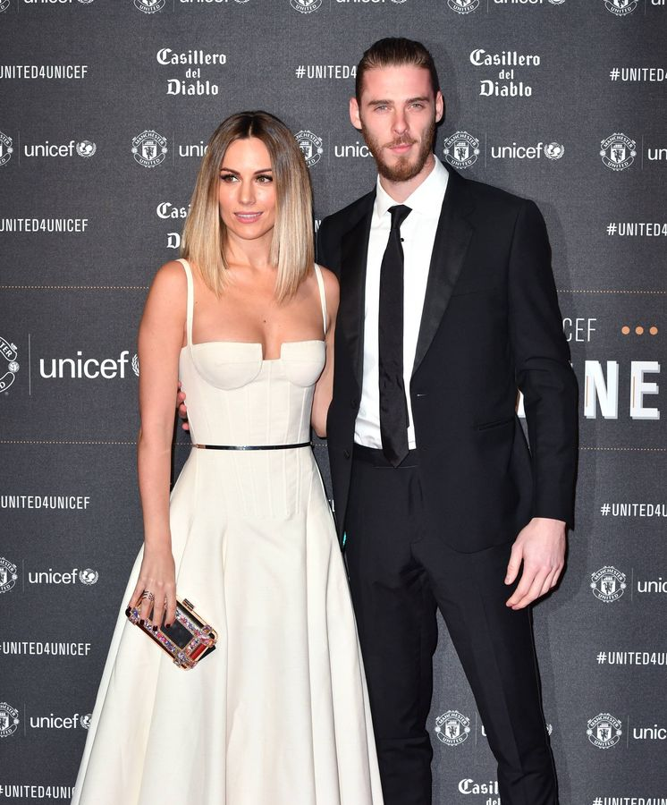 Foto: Edurne y De Gea. (Getty)