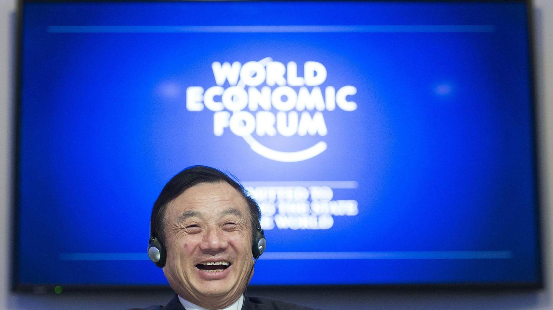 El fundador y presidente de Huawei, Ren Zhengfei. (EFE)