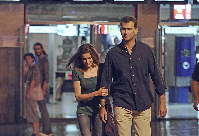 Foto: Los Reyes en los Cines Ideal, en una imagen de archivo (Gtres)