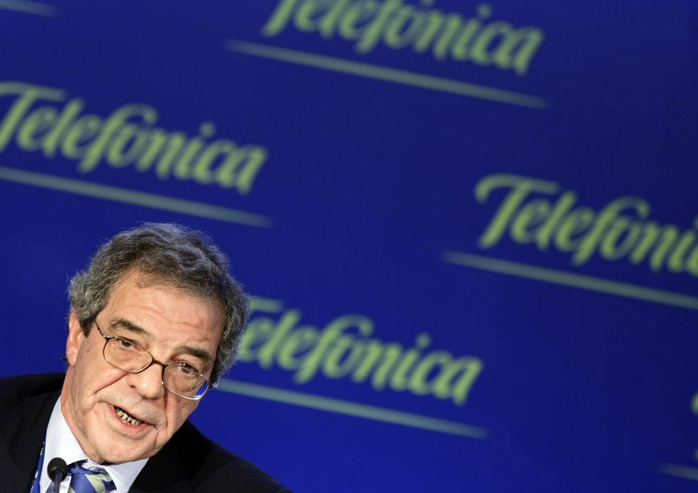 Foto: El presidente de Telefónica, César Alierta.