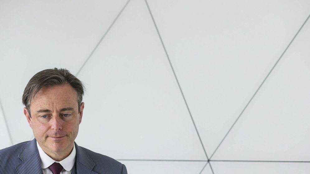 Foto: El alcalde de Amberes, Bart De Wever, y líder del partido nacionalista flamenco (EFE)