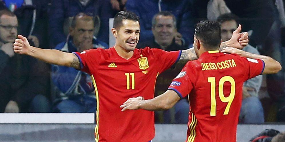 Foto: Vitolo marcó el gol de España en su enfrentamiento con Italia (Reuters)