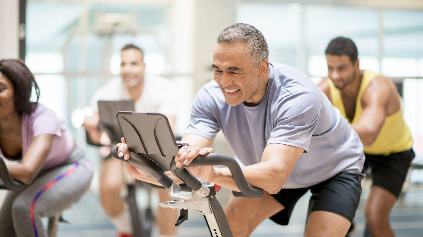 Foto: Bici en el gimnasio. (iStock)
