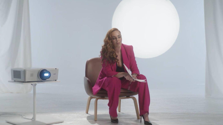 Rocío Carrasco, en el noveno capítulo de la serie documental. (Mediaset)