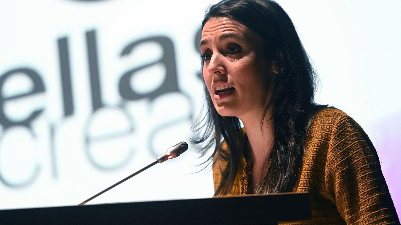 Irene Montero, en la presentación del festival de cine 'Ellas crean'. (EFE)
