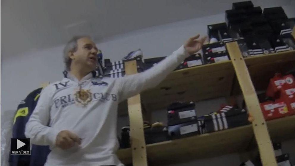 El bazar de 'El albondiguilla': de alcalde de la Gürtel a vender camisetas en un sótano