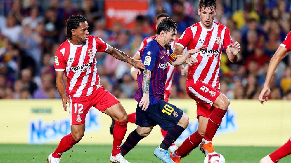 Foto: El Girona-Barcelona parece que se jugará en la ciudad catalana y no en Miami. (EFE)