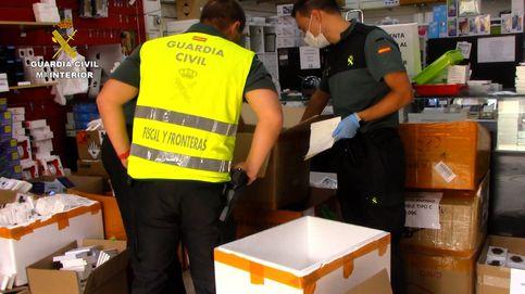 Retiran 584.000 mascarillas y 7.250 test rápidos en Cobo Calleja por incumplir la normativa