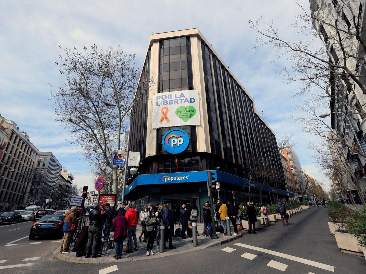 Foto: Sede del PP en la calle Génova.