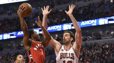 Pau vuelve a tirar del carro de los Bulls, apoyado por el brillo de los reservas