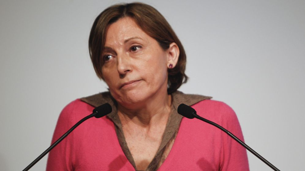 Foto: La presidenta del Parlament, Carme Forcadell (EFE)