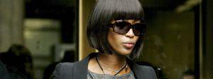 Naomi Campbell encontró la paz barriendo y fregando