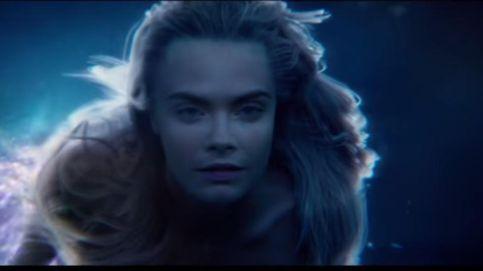 Cara Delevingne, una sexy sirena en el primer tráiler de 'PAN'