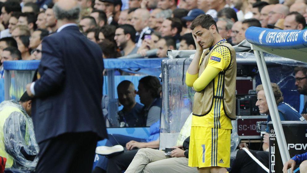 """Iker Casillas: """"No me he retirado de la Selección el seleccionador lleva a otros"""""""