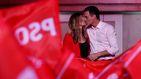 Clamor en Ferraz tras el primer triunfo del PSOE en 11 años: ¡Con Rivera no!