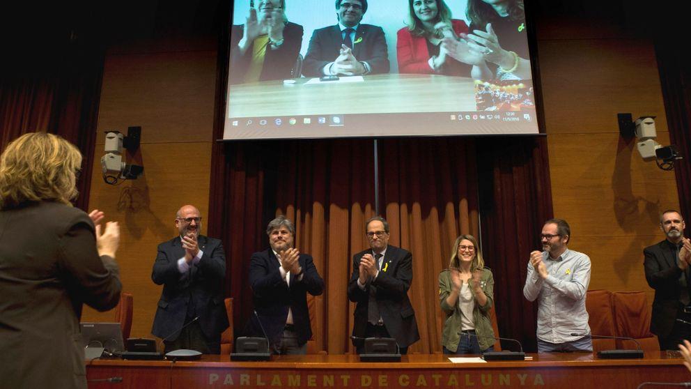 El PDeCAT exige a Puigdemont que pague el apoyo a Torra mojándose en las municipales
