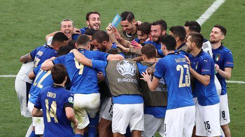 La Italia 'B' de Mancini se basta para derrotar a Gales: lleva 30 partidos sin perder (1-0)