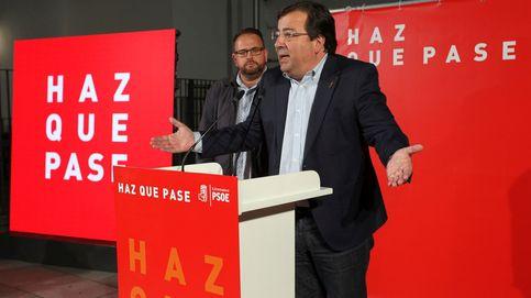 En Extremadura, con el 73,7% escrutado, el PSOE consigue 5 diputados y el PP logra dos