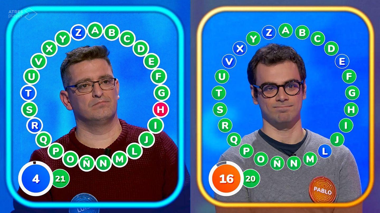 Luis y Pablo en el duelo nº84. (Atresmedia)