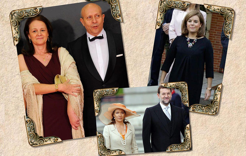 Rajoy, Viri y parte del Gobierno acudieron a la boda de Wert y Gomendio