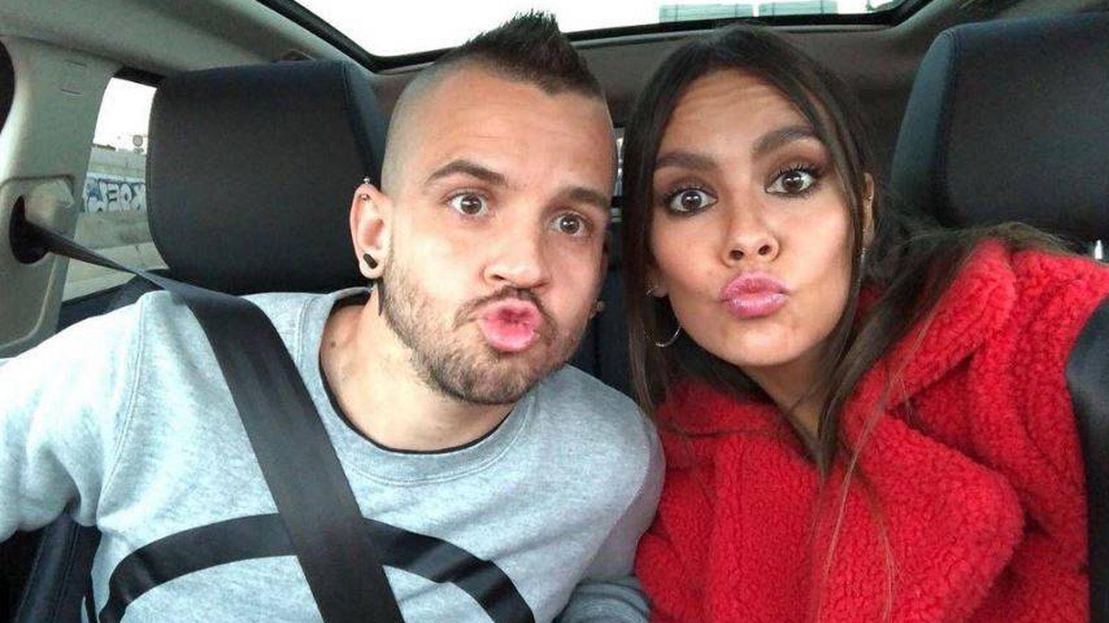 Foto: David Muñoz y Cristina Pedroche en una imagen de su perfil de Instagram.