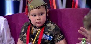 Post de Críticas a Canal Sur por un niño vestido de legionario en el plató
