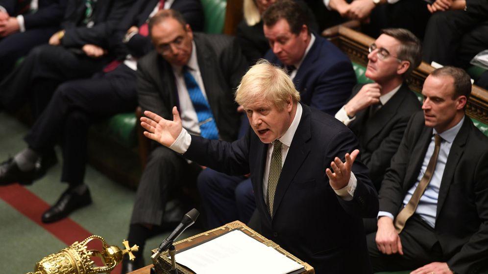 Foto: El primer ministro británico, Boris Johnson. (Reuters)