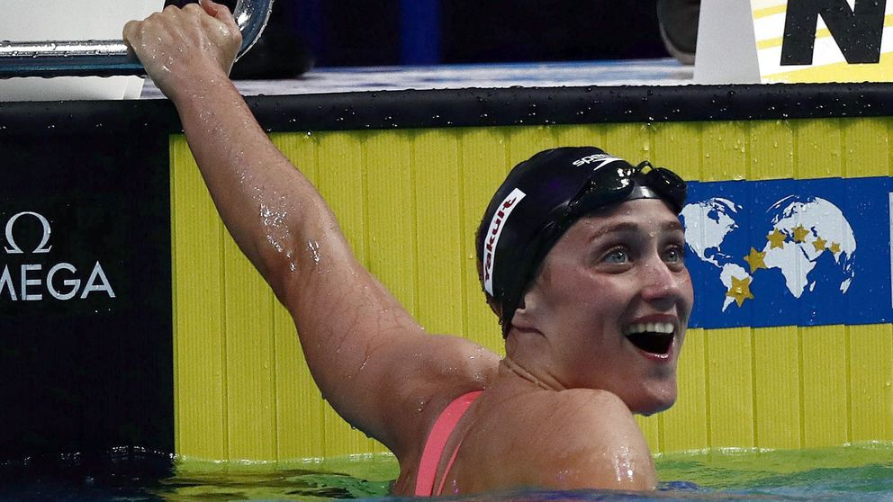Mireia Belmonte, oro en los 200 mariposa en el Mundial de natación