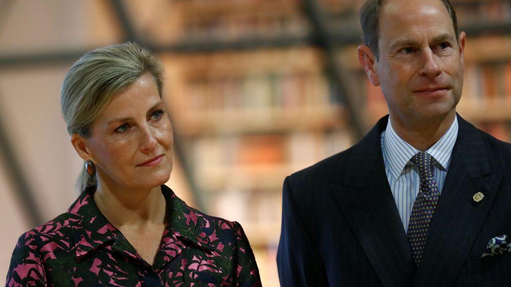 Foto: Los condes de Wessex en una imagen de archivo. (Reuters)