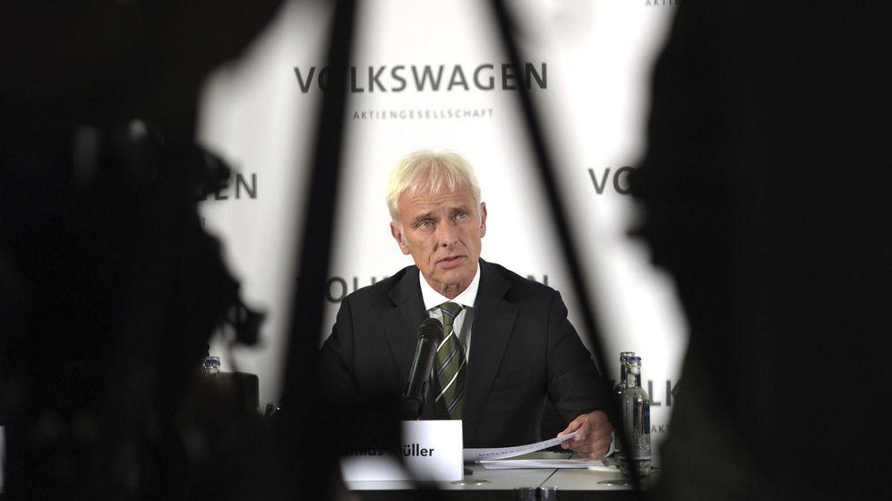 Foto: El recién nombrado presidente del grupo Volkswagen, Matthias Müller. (EFE)