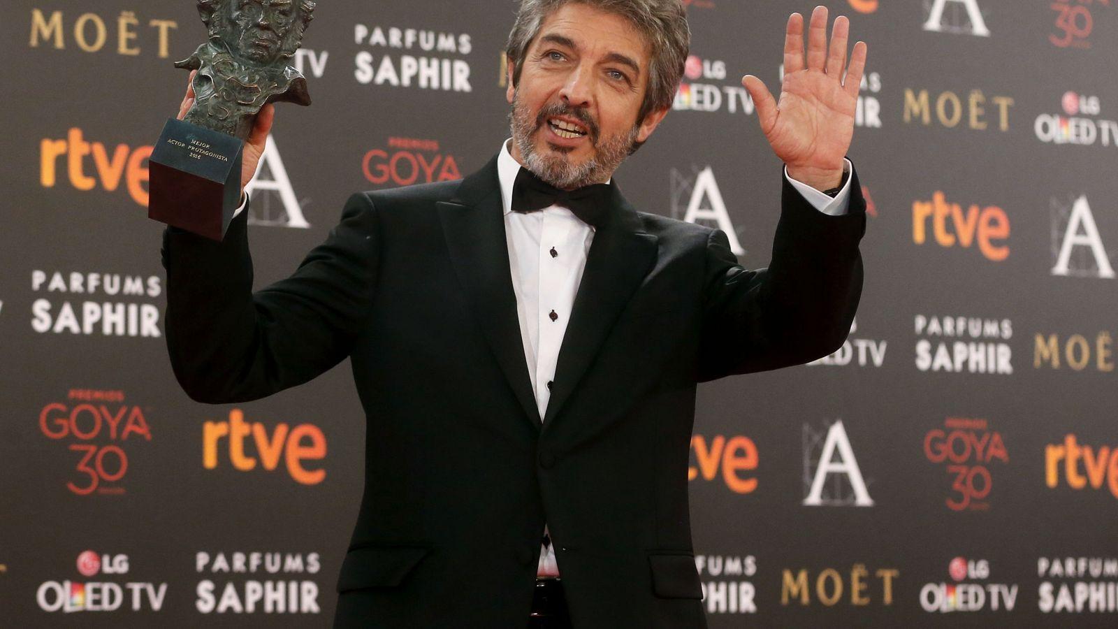Premios Goya: Ricardo Darín: Siguen sin gustarme los premios