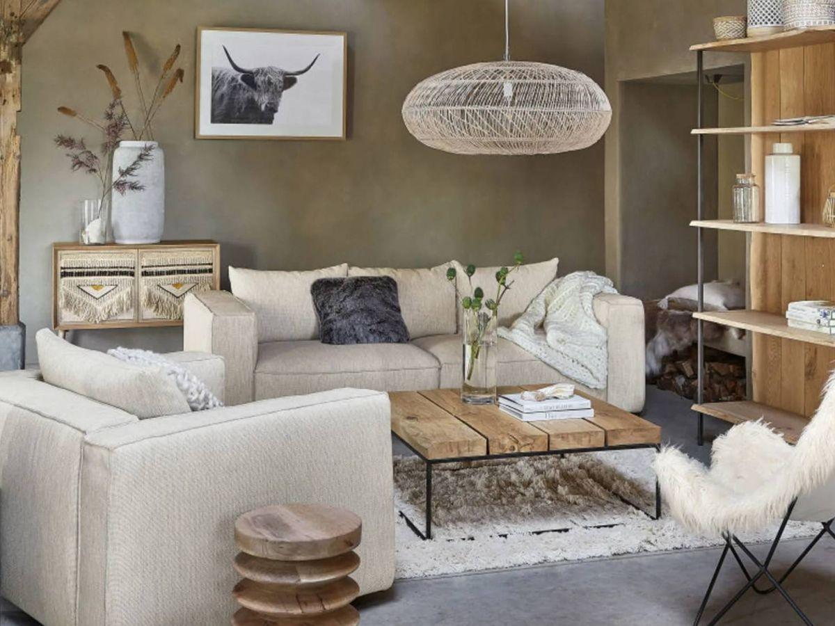 Foto: Un salón para inspirarnos de Maisons du Monde. (Cortesía)