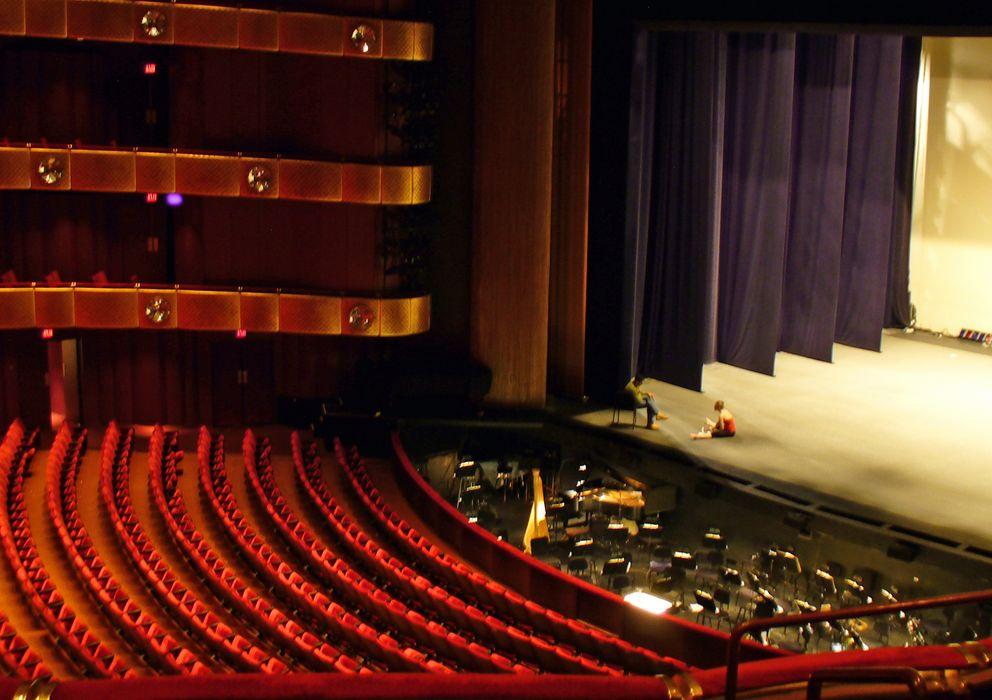 Foto: La Ópera de Nueva York cierra sus puertas.