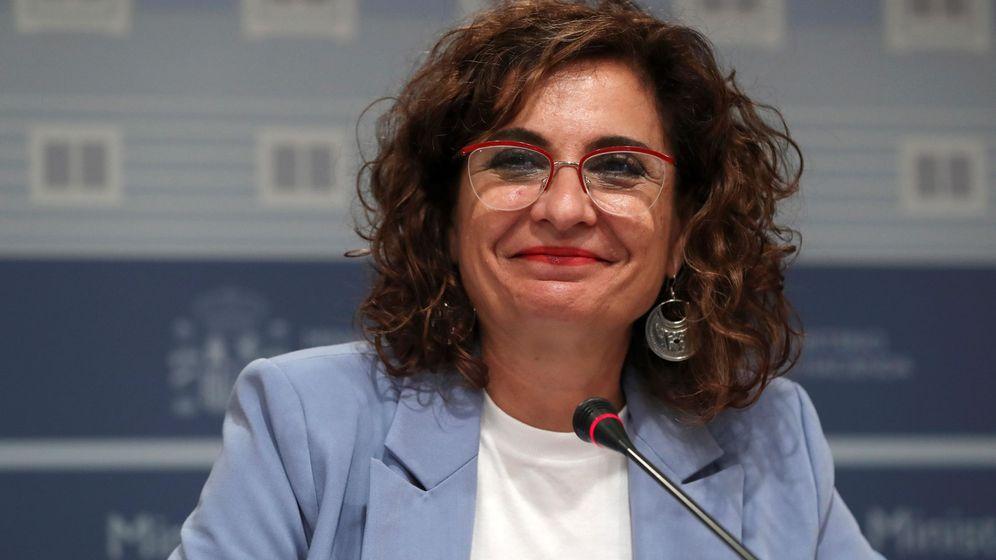 Foto: La titular de Hacienda, María Jesús Montero. (EFE)