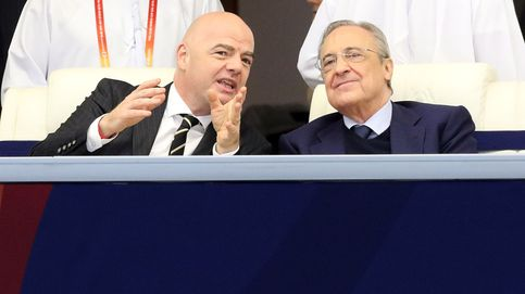 Florentino 'olvida' la Superliga: le seducen más los 1.000M del Mundial de Infantino